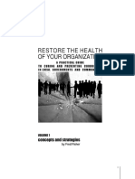 Restore the Health of Your Organisation - A Practical Guide to Curing and Preventing Corruption in Local Government and Communities. Volume 11