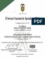 Certificado Gestión de Calidad - Seguridad y Salud Ocupacional