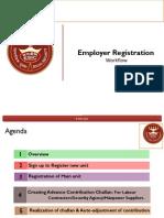 Employer Emplaaoyee Registration Through Portal