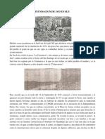 Reseña de la inundación de 1933 en SLP