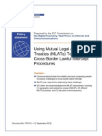 ICC Policy Statement on MLAT