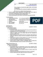 Resume - Anup Mehta