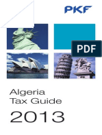 Algeria Pkf Tax Guide 2013
