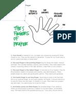 The 5 Fingers of Prayer