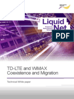 NSN - TD-LTE and WiMAX Coexistence and Migration