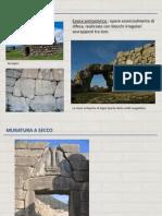 Lezione 1 Tipologie Muratura