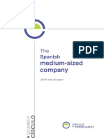 The Spanish Medium-sized Company-Círculo de Empresarios 2014 Annual Report