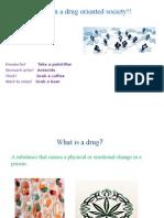 Categorisation of Drugs-Assignmnet