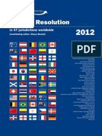 Dispute Resolution in Malaysia 2012