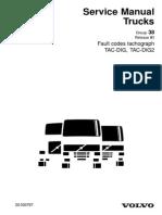 38 Fault Code Tachograph