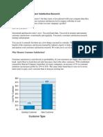 Best Practices in Customer Satisfaction Research