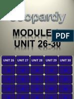 Grade 8 Jeopardy- Module 6 Tara Lesser