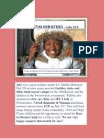 Tabitha July 2014 Newsletter PDF