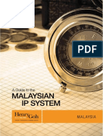 A Guide to Malaysian IP System-Henry Goh