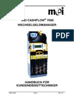A M7400 M MEICashFlowcf7900KundendiensttechnikerHandbuch