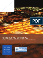 HRW - With Liberty to Monitor All
