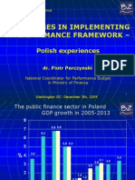 9-10.15am_Challenges in Implementing a Performance Framework (P. Perczynski and M. Postula) ENGLISH