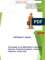 Personality Development - Recruit Wheels