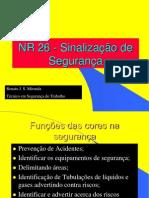 NR 26 - Sinalização de Segurança
