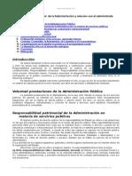 Voluntad Prestacional Administracion y Relacion Administrado