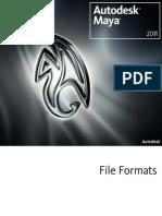File Formats Maya