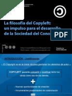 Copyleft Sociedad Conocimiento