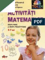 Activitati Matematice Grupa Mare Si Pregatitoare Ed Art Akademos TEKKEN