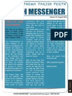 Edition 70 - News Letter August 2014