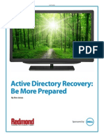 Active Direcotry Recover Be More Prepared_0