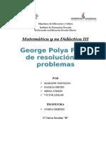 George Polya Fases de Resolución de Problemas