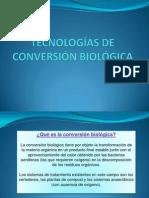 Tecnologías de Conversión Biológica Diapo