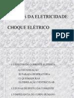 CHOQUE ELÉTRICO - Márcio de Almeida  -  apresentação PowerPoint