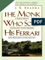 The Monk Who Sold His Ferrari - Robin Sharma (PDF) [Qwerty80]