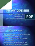 Greek and Roman Mythology Lesson