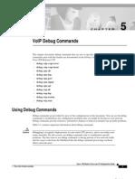 5- VoIP Debug Commands