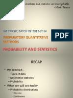 Ch07 Statistics