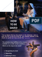 3rd Quarter 2014 Lesson 5 How to Be Saved Powerpoint Presentation
