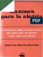 ESTEMartin Descalzo Jose Luis - Razones Para La Alegria