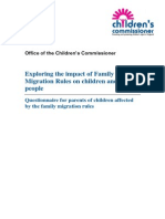 Children's Commissioner Questionnaire