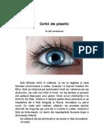 Ochii de Plastic