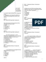 Final Study Guide MIS315 2010v3S