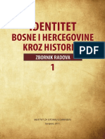 Identitet Bosne i Hercegovine kroz historiju - zbornik radova 1 [2011.]