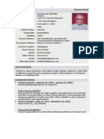 Latest Resume MSK