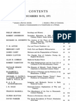 Past and Present - Nº 50-53 - 1971