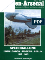 Waffen Arsenal - Band 161 - Sperrballone über London - Moskau - Berlin 1917-1945