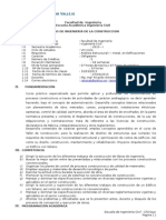 Sílabo de Construcciones Ucv 2013-Marzo