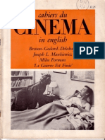 Cahiers Du Cinema in English 8 (Feb 1967)