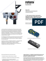 RotorK Manual de Instrucciones