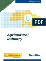Agricultural Industry InvestUkraine Deloitte