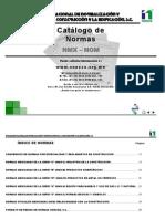 Catalogo de Normas Nmx